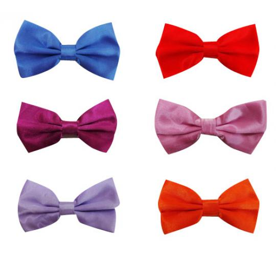 Wholesale Joblot of 500 Assorted Bow Ties Good Range of Colours Available