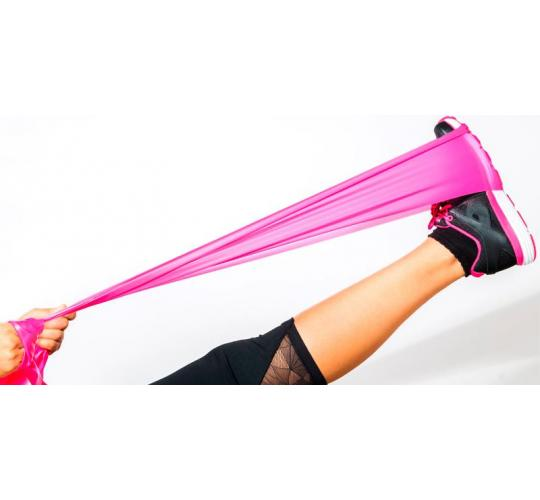 Resistance Tensile Bands - yoga, pilates - different strengths - 40 in a lot