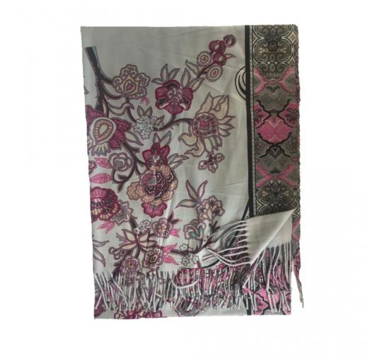 Cashmere blend Printed Scarf 60 Pcs