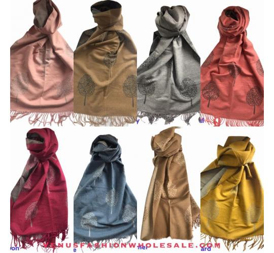 Life Of Tree Cashmere Blend Scarf 30 Pcs