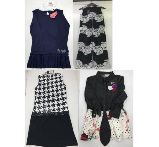 One Off Joblot of 8 Guess/Marciano Girls Dresses 4 Styles Sizes 2-14