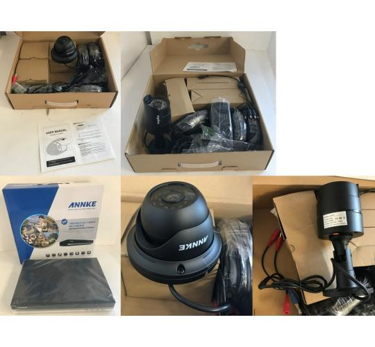 One Off Joblot of 18 Annke/Sannce Security Cameras/DVRs - Customer Returns
