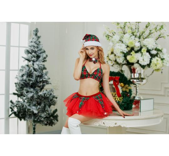 12 x 5 Piece Sexy Elf Costume One Size UK SELLER