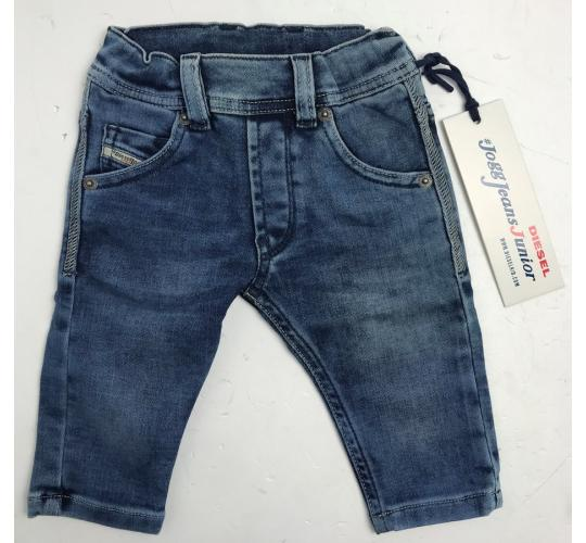 One Off Joblot of 3 Diesel Boys Blue Jogg Jeans Sizes 6m-18m