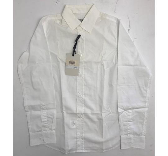 One Off Joblot of 8 Dal Lago Childrens White Dress Shirts Sizes 10-14