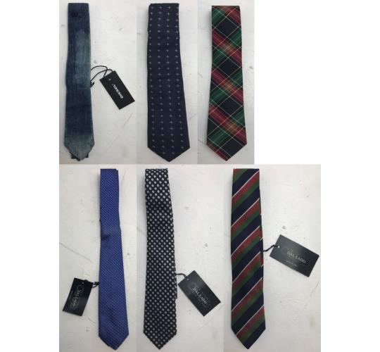 One Off Joblot of 11 Childrens/Teens Branded Ties - Dal Lago & Diesel