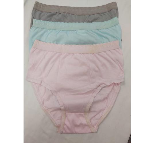 LADIES ASSORTED COLOURS 1 PAIR X 12 LADIES SMALL SIZE BRIEFS GREAT VALUE