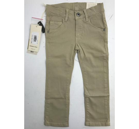 One Off Joblot of 4 Eddie Pen Boys Classic 911 5-Pocket Slim Fit Trousers Beige