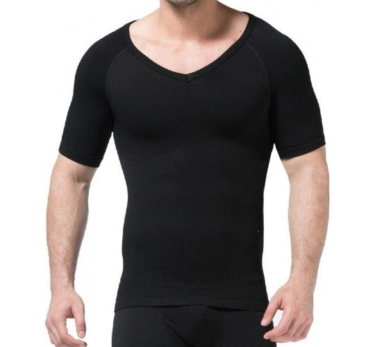 Wholesale Joblot of 20 Zerobodys Mens Body Shaper Short Sleeve T-Shirt