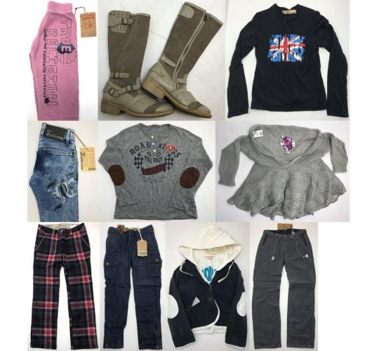 One Off Joblot of 13 Kids Branded Clothing - Scotch Soda, John Galliano & More