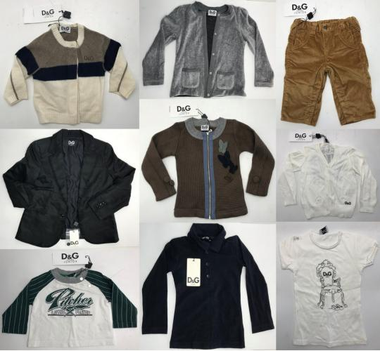 One Off Joblot of 18 Dolce & Gabbana Junior Clothing - Suit, Cardigans & More
