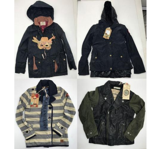 One Off Joblot of 5 Scotch Shrunk/Scotch R'Belle Kids Jackets 5 Styles 6-9 Years
