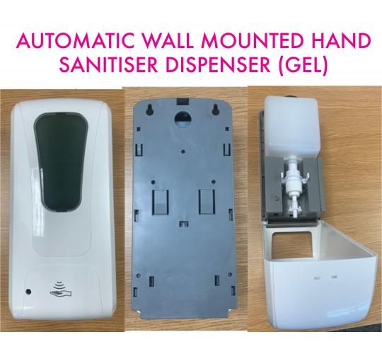 Automatic Hand Sanitiser Gel (or Soap) Dispensers