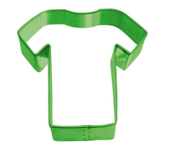 Wholesale Joblot of 100 Amscan Green Football Shirt Cookie Cutter