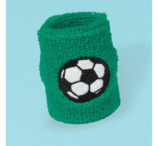 Wholesale Joblot of 30 Amscan Green Football Sweatbands (Pack of 2)