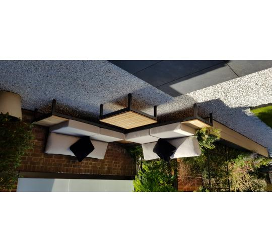 HIGH END ALUMINIUM FRAMED GARDEN FURNITURE