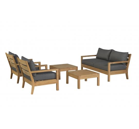 HIGH END FSC TEAK FRAMED GARDEN FURNITURE