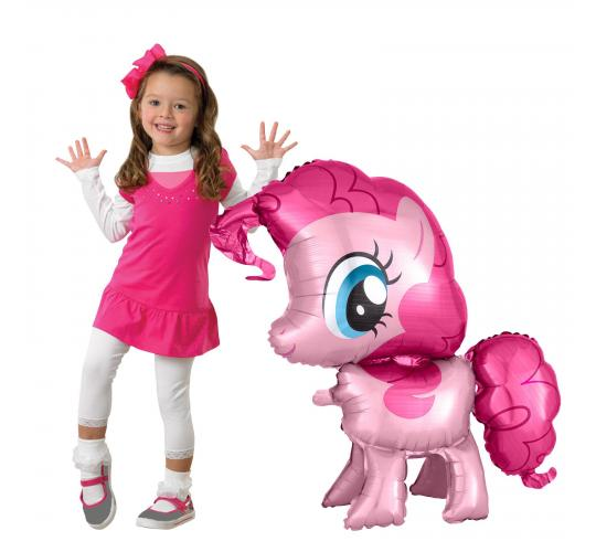 Wholesale Joblot of 20 Amscan Anagram My Little Pony Pinkie Pie AirWalkers Balloon 29""