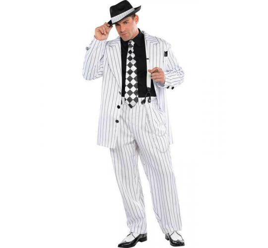Wholesale Joblot of 7 Amscan Pinstripe Daddy Pimp Costume Adults Standard
