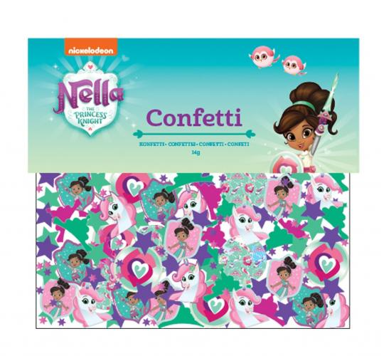 Wholesale Joblot of 100 Amscan Nickeloden Nella the Princess Knight Confetti 14g
