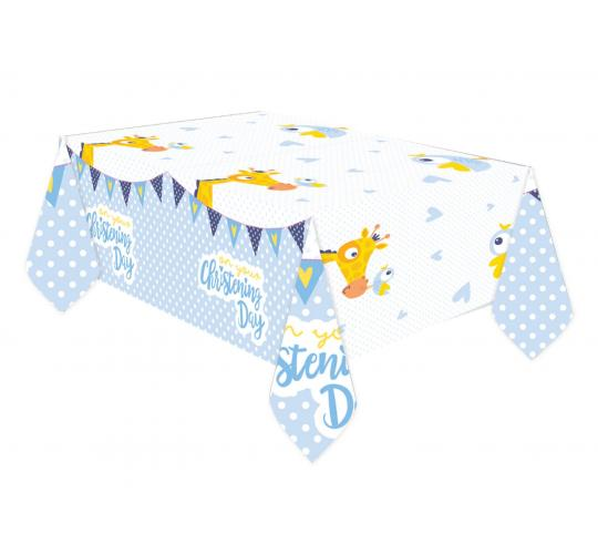 Wholesale Joblot of 30 Amscan Christening Day Plastic Tablecover 1.8m x 1.2m