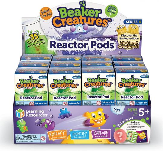 Wholesale Box Learning Resources Beaker Creatures Set of 24 Single POD. Rrp £3.99 each, Total £95.76 retail stock.
