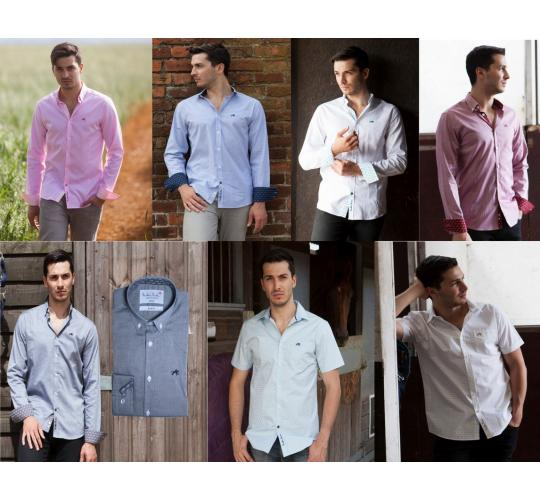 Wholesale Joblot of 20 Freddie Parker Mens Shirts in Assorted Styles & Sizes