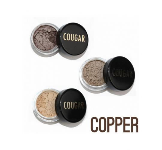 Wholesale Joblot of 20 Cougar Pure Mineral Professional Eyeshadow Kit Copper