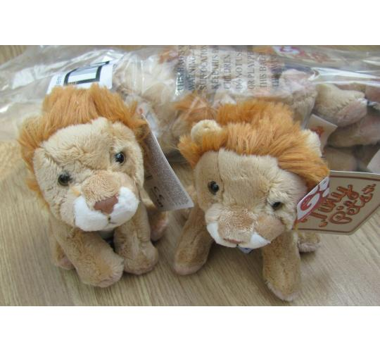 96 x Tiny pets Soft plush Lions by Gosh!