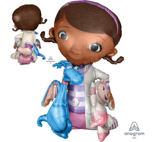 Wholesale Joblot of 20 Amscan Doc McStuffins Airwalkers Balloon 46""