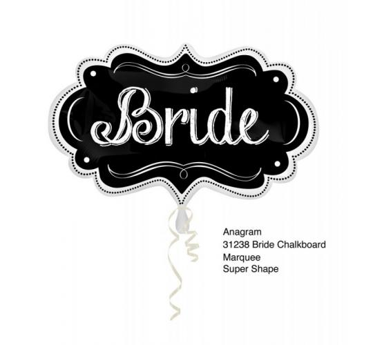 "Wholesale Joblot of 40 Amscan Anagram Bride SuperShape Foil Balloon 16"" x 27"""