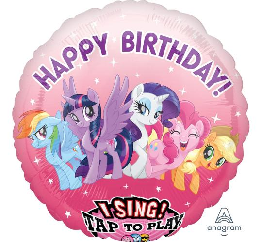 Wholesale Joblot of 20 My Little Pony Happy Birthday Singing Balloon 28""