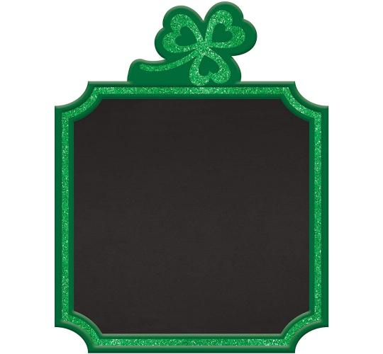 Wholesale Joblot of 30 Amscan St. Patricks Shamrock Chalkboard Easel Sign