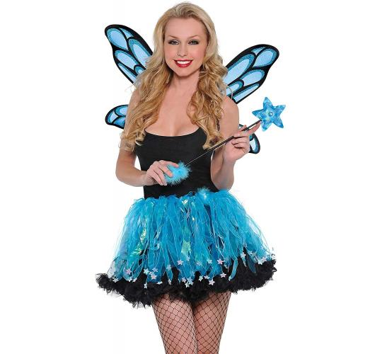 Wholesale Joblot of 20 Amscan Aquamarine Fairy Kit (Wings & Skirt)