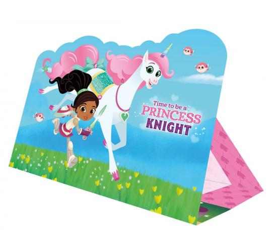 Wholesale Joblot of 40 Amscan Nella the Princess Knight Stand-Up Invitations