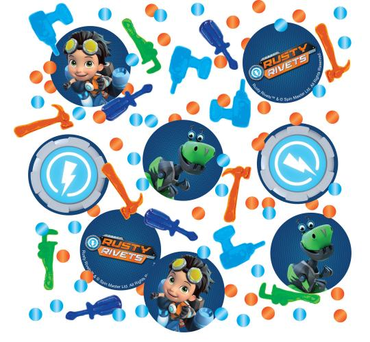 Wholesale Joblot of 100 Amscan Nickelodeon Rusty Rivets Confetti 14g