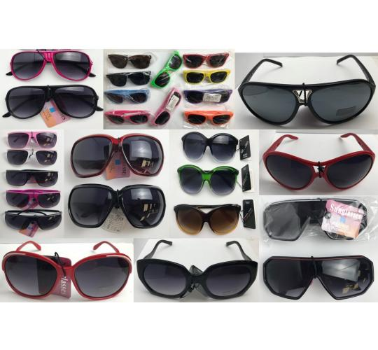 Wholesale Joblot of 250 Assorted Sunglasses Mens & Womens