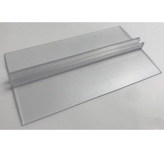 One Off Joblot of 600 Freestanding Clear PVC Display Sign Holder 6""