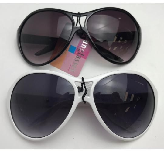 Wholesale Joblot of 20 Mens Wide Aviator Style Sunglasses in 2 Colours SG-122