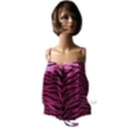 WHOLESALE JOBLOT 5 LADIES PINK SODA PINK ZEBRA TOP S-M-L