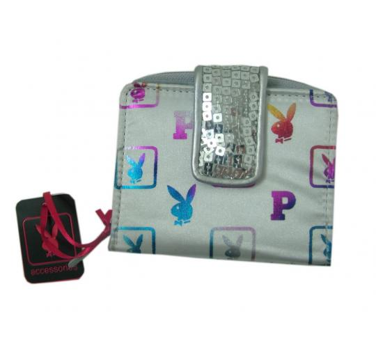 Playboy silver Purse PA2639-SIL