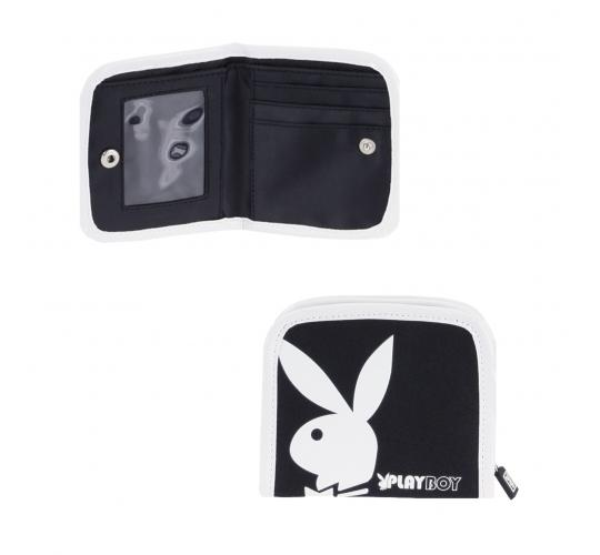Playboy Gift range purse black/White PA2725-BLK