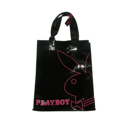 Playboy tote bag Black/Pink PA7711-BLK