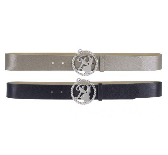 Playboy Soulful P Buckle belt Black PL4338BLK