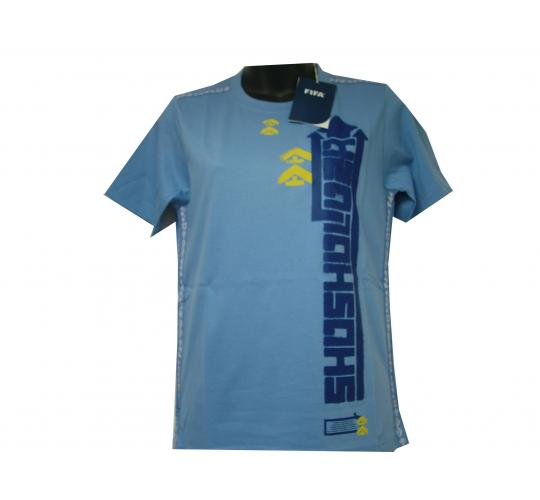 Joblot Of 5 Fifa Offical Ladies Blue Size 10 T-Shirts