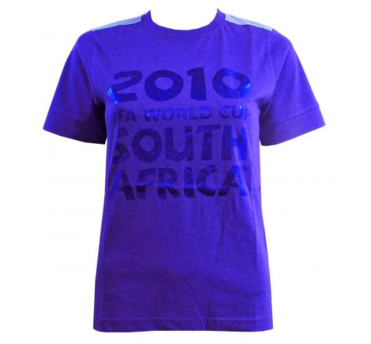 Joblot Of 5 Official Fifa Ladies Royal Blue T-Shirts