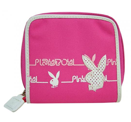 Joblot of 10 Playboy Purses Pink & White PA2557-HPK