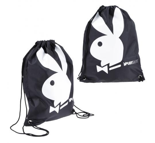 Playboy Gift Range gymsack black/white PA7697-BLK