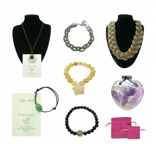 Parcel Joblot of 50 Mixed Punch London High End Jewellery Items