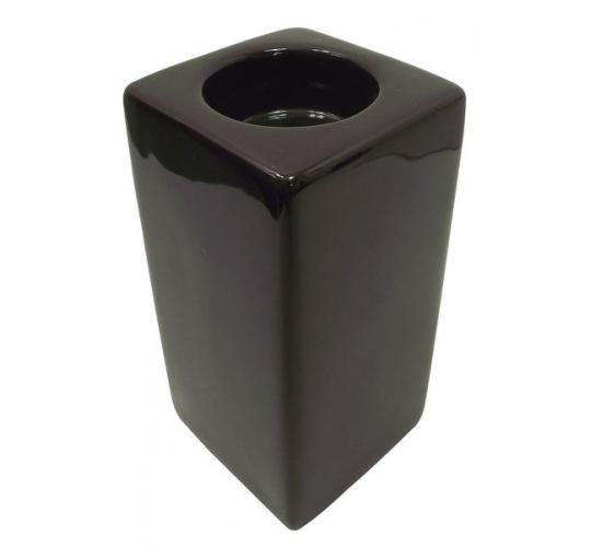 Joblot of 6 Colony Square Tall Dark Brown Tealight Holders M8307